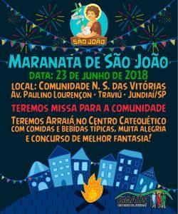 Maranata de São João 2018