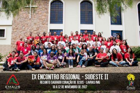 REGIONAL SUDESTE II REALIZA ENCONTRO FORMATIVO