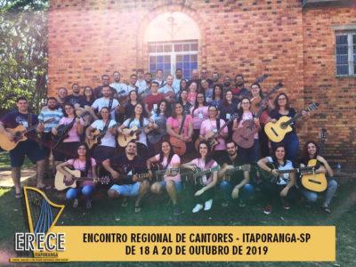 REGIONAL SUDESTE I REALIZA ENCONTRO FORMATIVO PARA CANTORES