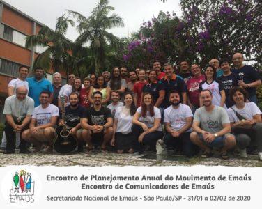 SECRETARIADO NACIONAL SE REÚNE COM REPRESENTANTES REGIONAIS PARA PLANEJAR 2020