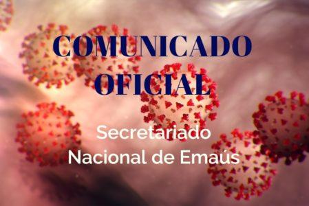 COMUNICADO OFICIAL – Combate ao Corona Vírus