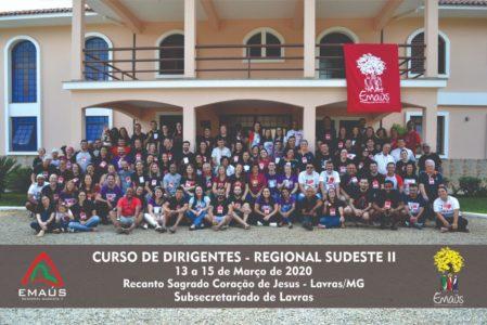 CURSO DE DIRIGENTES PROMOVE FORMAÇÃO PARA REGIONAL SUDESTE II