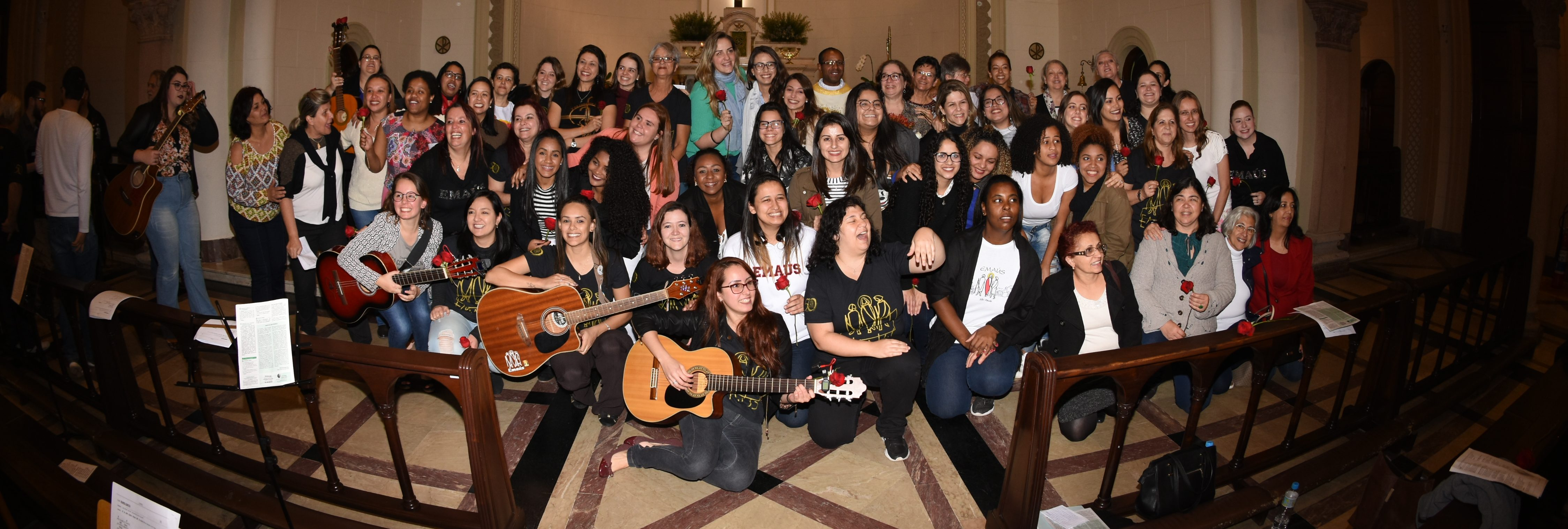 240º Curso de Emaús Feminino – Missa de Encerramento