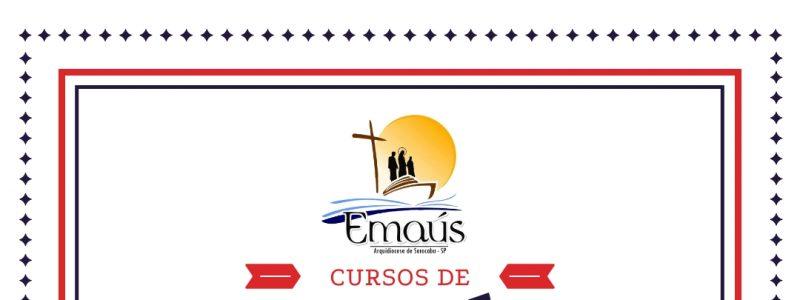 Próximos Cursos de Emaús 2019 Sorocaba